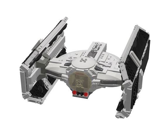 Lego Star Wars LDD INSTRUCTIONS Darth Vader's by ...