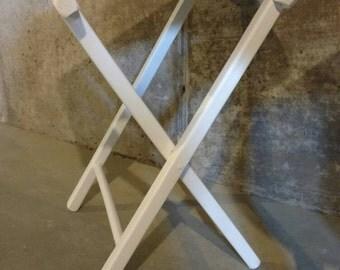Upcycled Folding Bench Stool