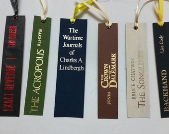 Bookspine bookmark collection 2