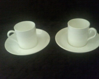 Demitasse Cups and Saucers Crown Staffordshire 2 of 1906