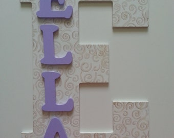 Custom Letter Wall Decor, Nursery Letter, Personalized Name