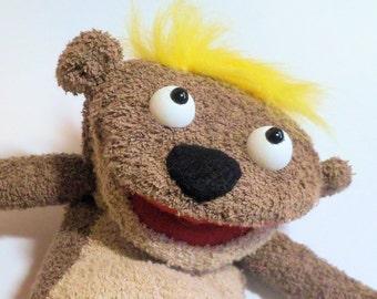 Puppet, Hand puppet, animal puppet, Performance puppet, Handmade puppet, monster puppet, professional puppet, movable mouth puppet