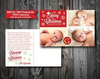 Christmas Postcards (100)