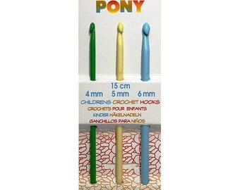 Childrens Crochet Hooks Pony