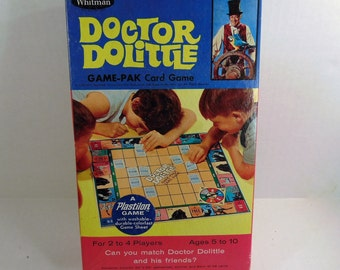 Doctor Dolittle Game-PAK Card Game