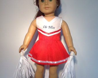 Doll Clothes - Cheerleader