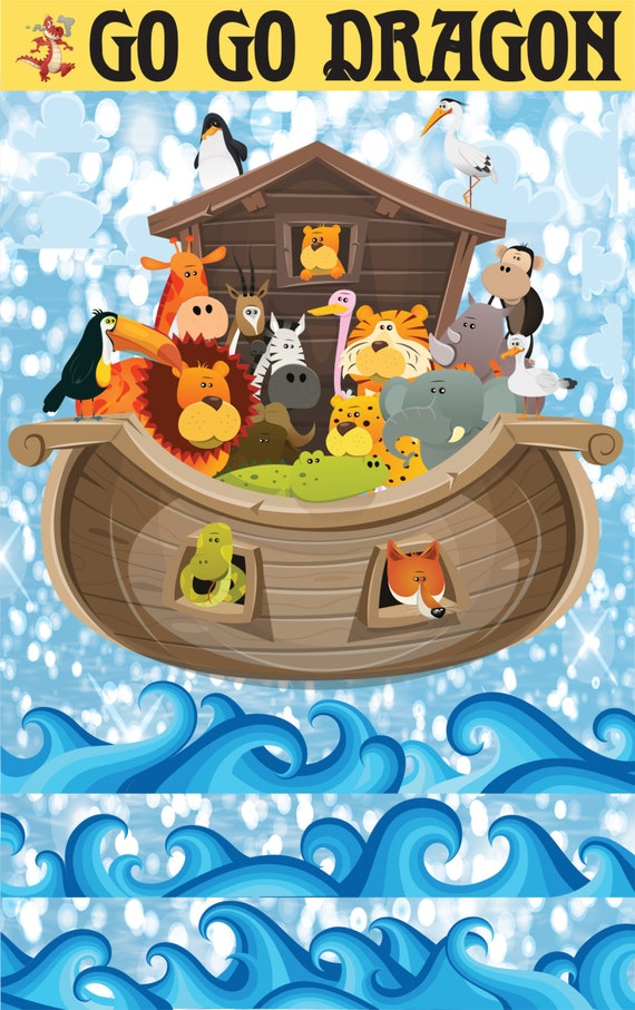 giant noah s ark wall decal noah with animals ark wall noah s ark wall stickers jojo maman bebe