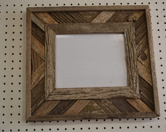 Rustic Barnwood 8 X 10 Fancy Barn Wood Picture Frame
