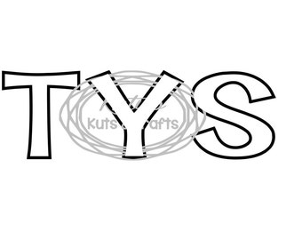 T (O) Y S (DECAL ONLY!)