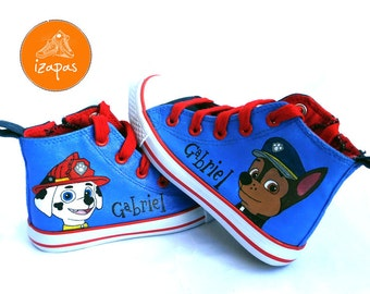 Kids Puppy Shoes Sneakers