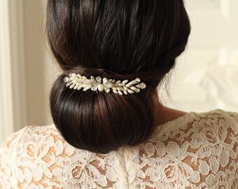 Bridal Hair Comb - Wings of Blessing and Happiness Comb - # 2 - Made to Order