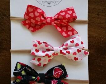 girl hair bows, girl valentine's bows,bows r accesorios, you choose 1, 2 por 3 bows un variety de colores.