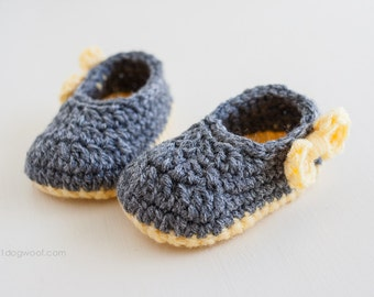 Piper Jane Baby Shoes Crochet