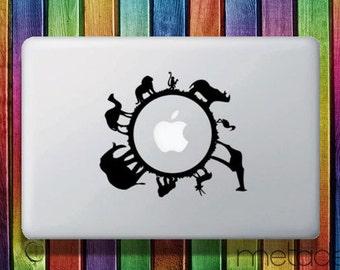 """Animals Macbook Sticker Decal 11"""" 12"""" 13"""" and 15"""" - laptop stickers, macbook stickers, macbook decals, macbook sticker macbook pro sticker"""