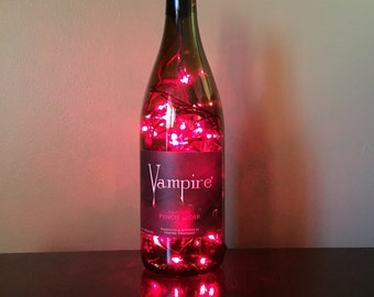 Vampire Lighted Bottle