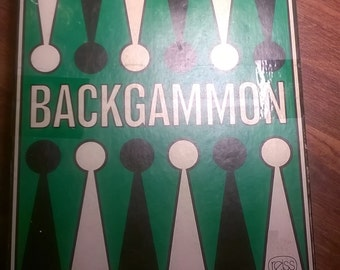 Backgammon Board Game - 1975 - Reiss