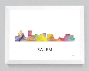 Salem, Oregon Skyline