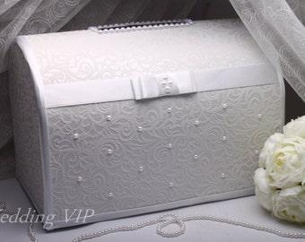 Wedding money box White Wedding Card Box Wedding box Wedding card box Wedding card holder Wedding post box Wedding gift box Wedding Box whit