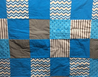 Baby Boy Quilt/ Ready to Ship!!!