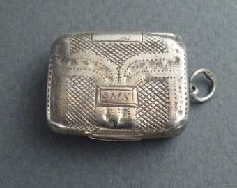 Birmingham 1790  vinaigrette silver box