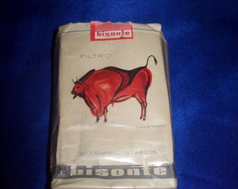 Vintage 1950's Spanish Cigarette Packet