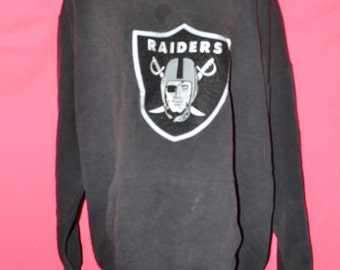 Vintage Raiders hoodie/ raiders hoodie/ vintage raiders sweatshirt/ raiders sweatshirt