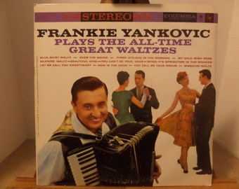 Frankie Yankovic Plays the All Time Greatest Waltzes Record