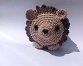 Hedgehog stuffed animal, Crochet Amigurumi Hedgehog, Stuffed Toy, Plush