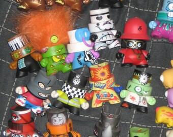 17 Fatcap Collection Kidrobot Munny Dunny Kaws Vinyl Figures