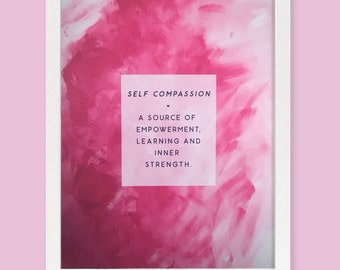 Self Compassion Art Print