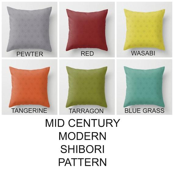 Mid Century Modern Outdoor Pillows : Outdoor pillow MCM pillows Outdoor throw pillows Mix and match