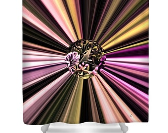 Eruption of Color...Shower Curtain by artist...MPL