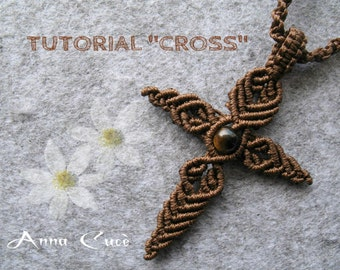 "Tutorial macramè  ""CROSS"" PDF"