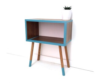 Mid Century Modern Furniture, Mid-century Bedside Table, Nightstands, Retro Nightstand, Coffee Table, Side Table, End Table, Painted Table
