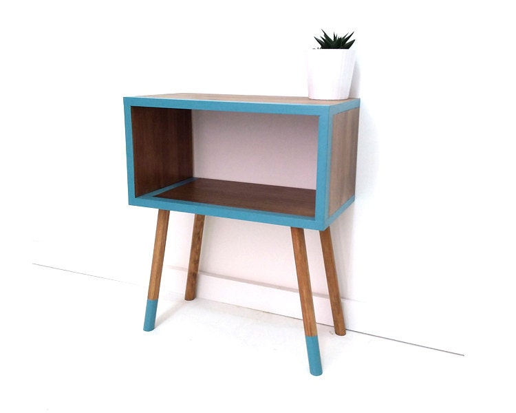 mid century modern furniture midcentury bedside table nightstands retro nightstand coffee table side table end table painted table