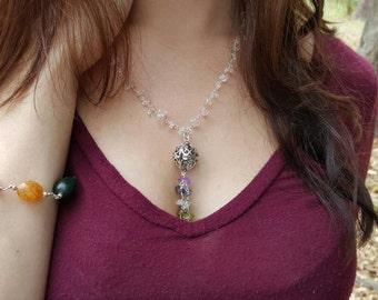 Quartz Wish Chakra Necklace
