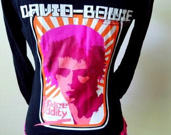 David Bowie Space Oddity Zip Hoodie