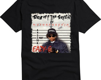 Eazy E Straight Off The Streets of Compton album T-shirt or Tank Top