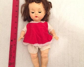 Antique Sleepy Eye Composition Doll