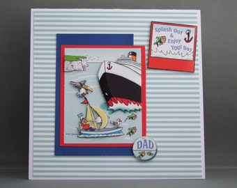 A card for the sailor in your life