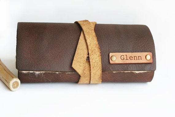 Fly fishing flies wallet fly fishing gift leather for Fly fishing gifts