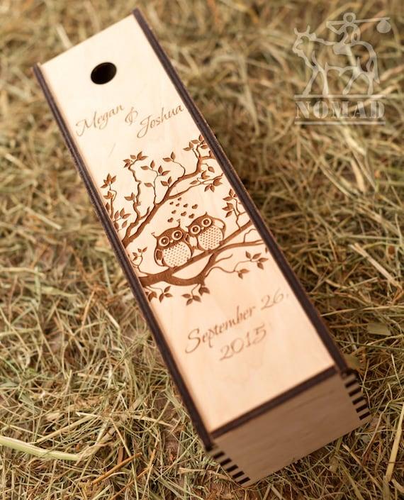 Wedding Gift Box Wine : Wine box Wedding Wine Box Custom Wine Box Wine Box