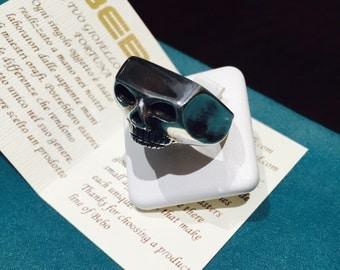925 Silver skull ring mod Johnny Depp.