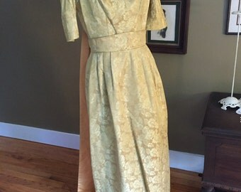 1960's House of Bianchi Evening Gown