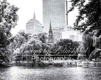 Boston, Massachusetts, Boston Public Garden, Fine Art, Fine Art Photography, Fine Art Print, Black and White