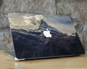 Macbook Decal Mountain, Macbook Pro Sticker, Macbook Air Sticker, Macbook Air Decal, Macbook 13 Decal, Macbook Retina Skin