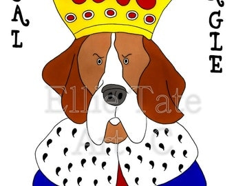 A3 Poster - Regal Beagle