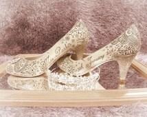 Hand drawn Wedding Heels