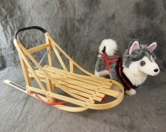 Husky Sled and Dog by American Girl - pre-Mattel