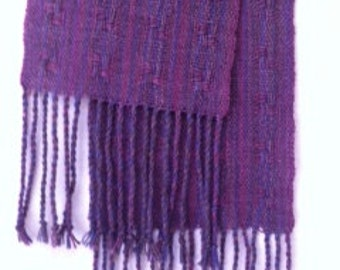 Hand-dyed,Handwoven Ladies Scarves